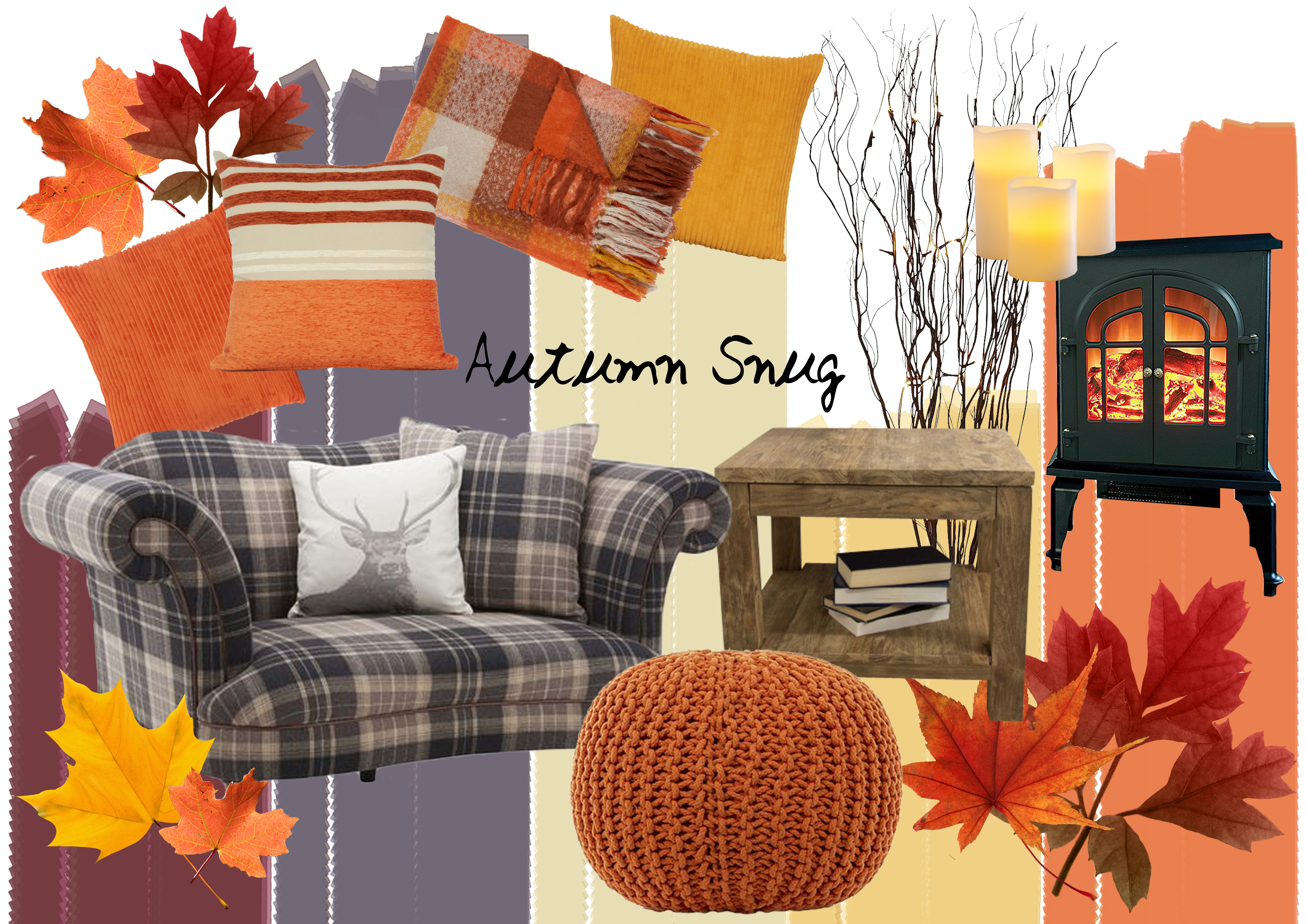 Autumn Snug - Mood Board for Autumn Decor