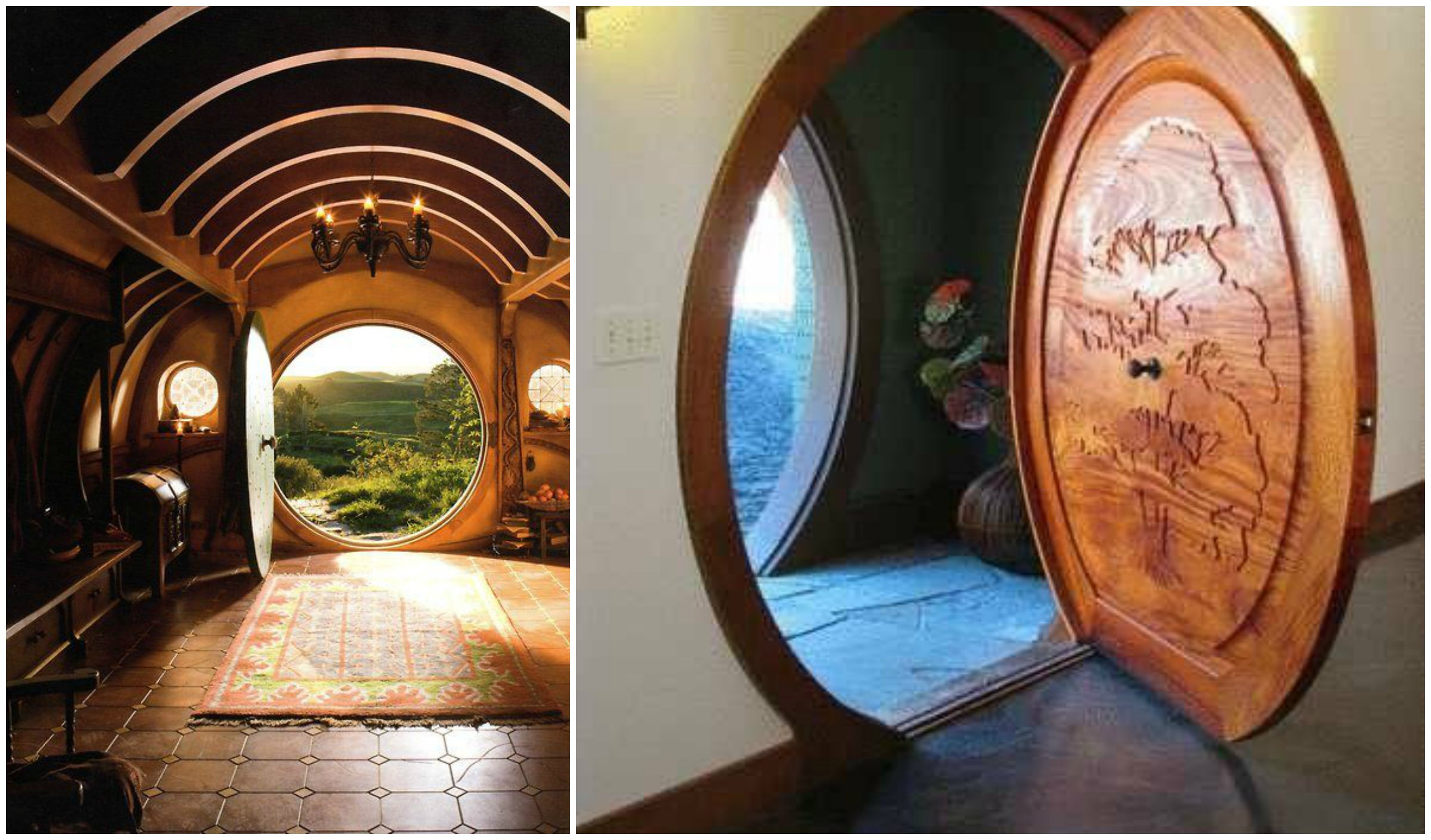 Hobbit Hole Doors