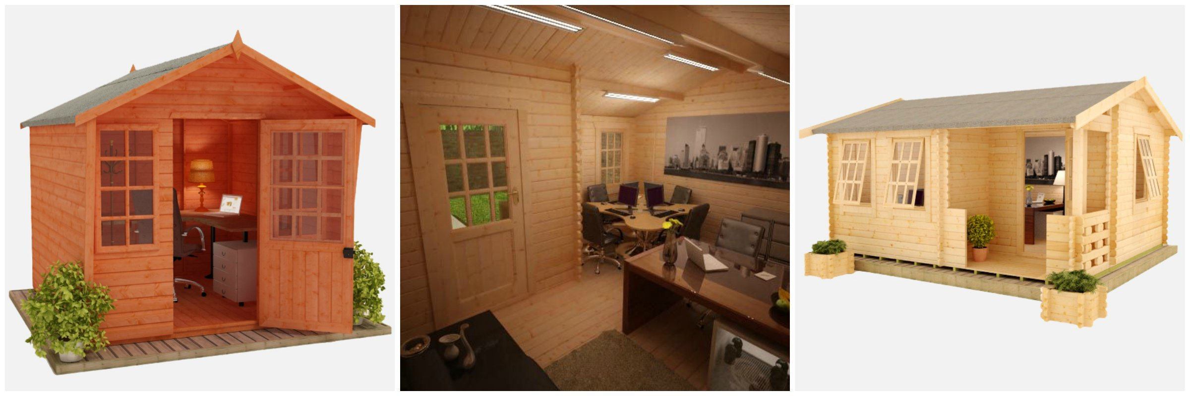 Create An Outside Office Shed