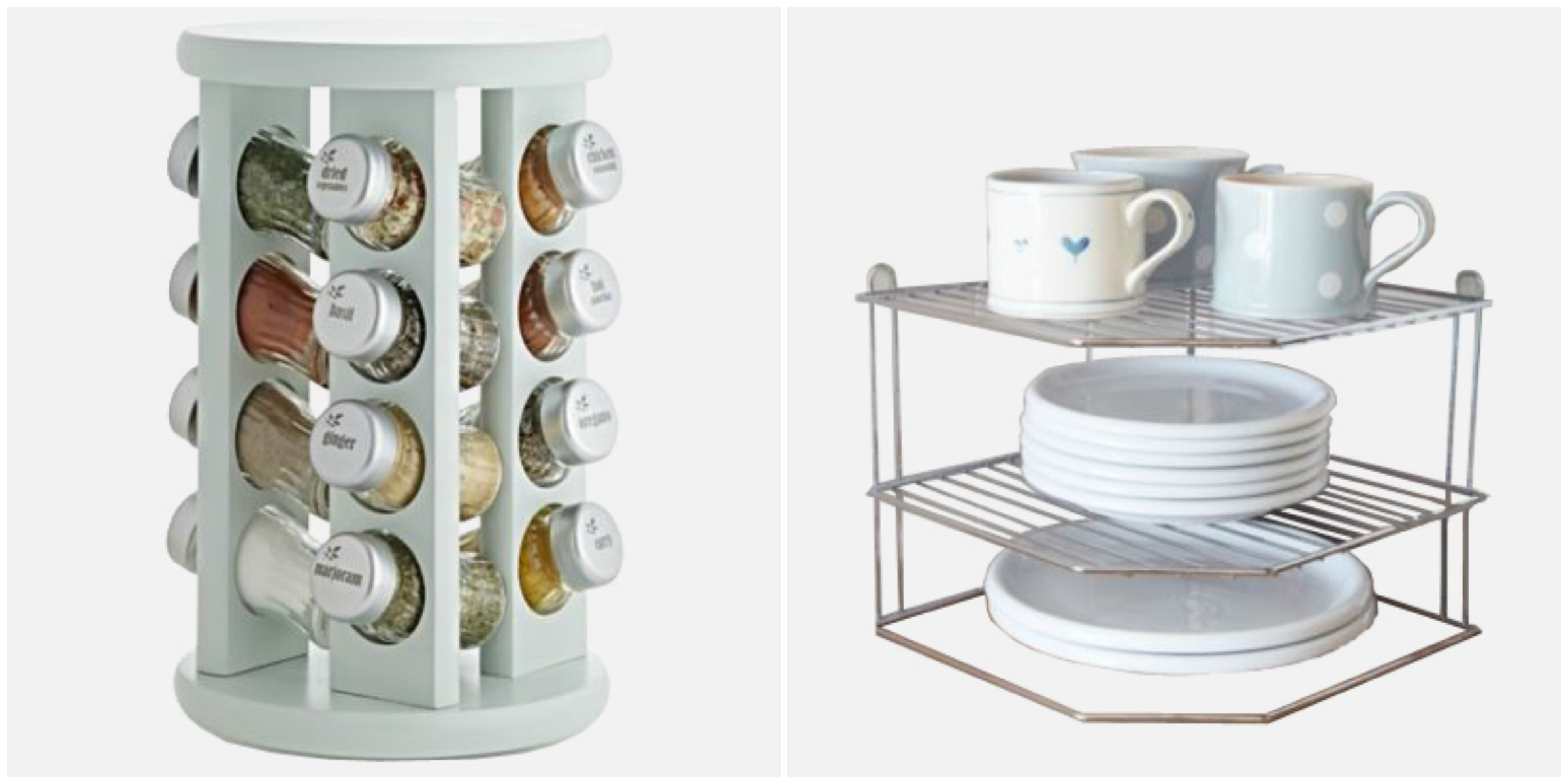 Spice Rack and Plate Rack
