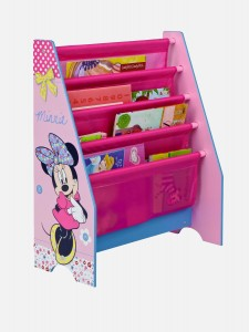Minnie Mouse Pink Kids Bookcase