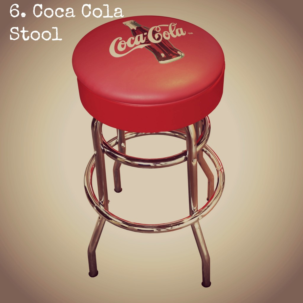 Coca Cola Stool Edited