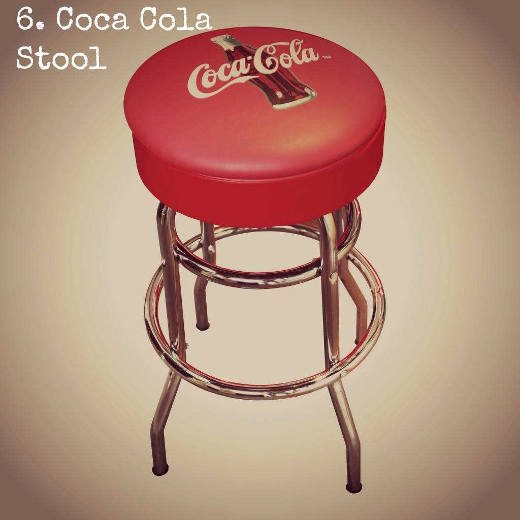 Coca Cola Stool Edited
