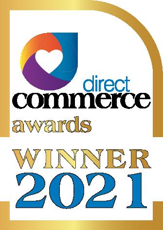 Direct Commerce Awards 2021 Winner badge