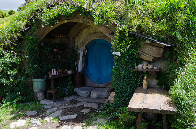 transform your cabin into a hobbit hole - the hip horticulturist