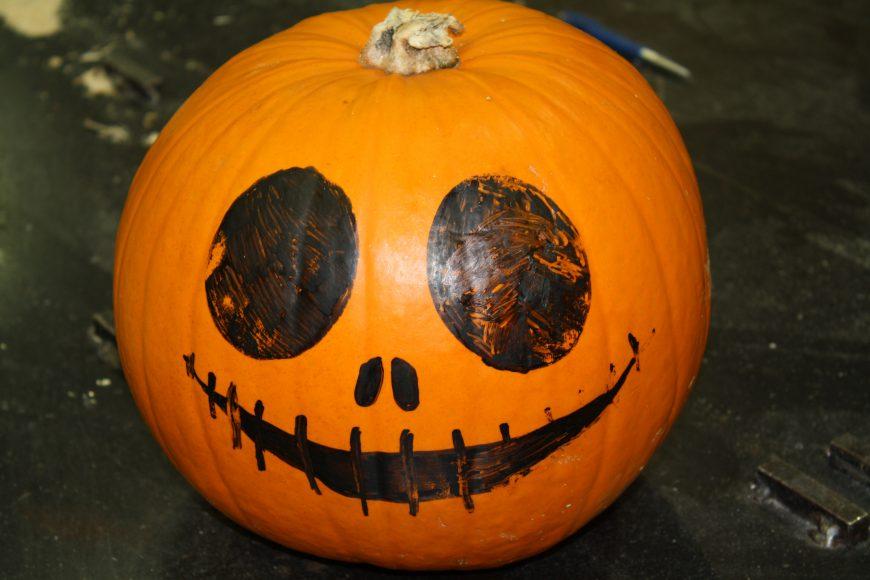 Meet our pumpkin