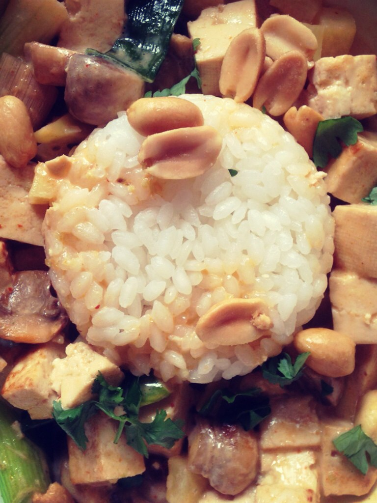 Tofu and Sweet Potato Thai Curry