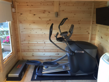 Small gym shed