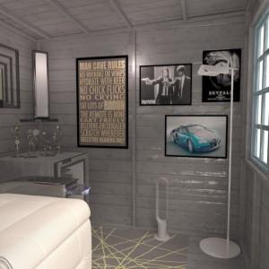 Man Cave interior design