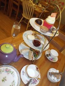 Mad Hatters Tea Room cake stand