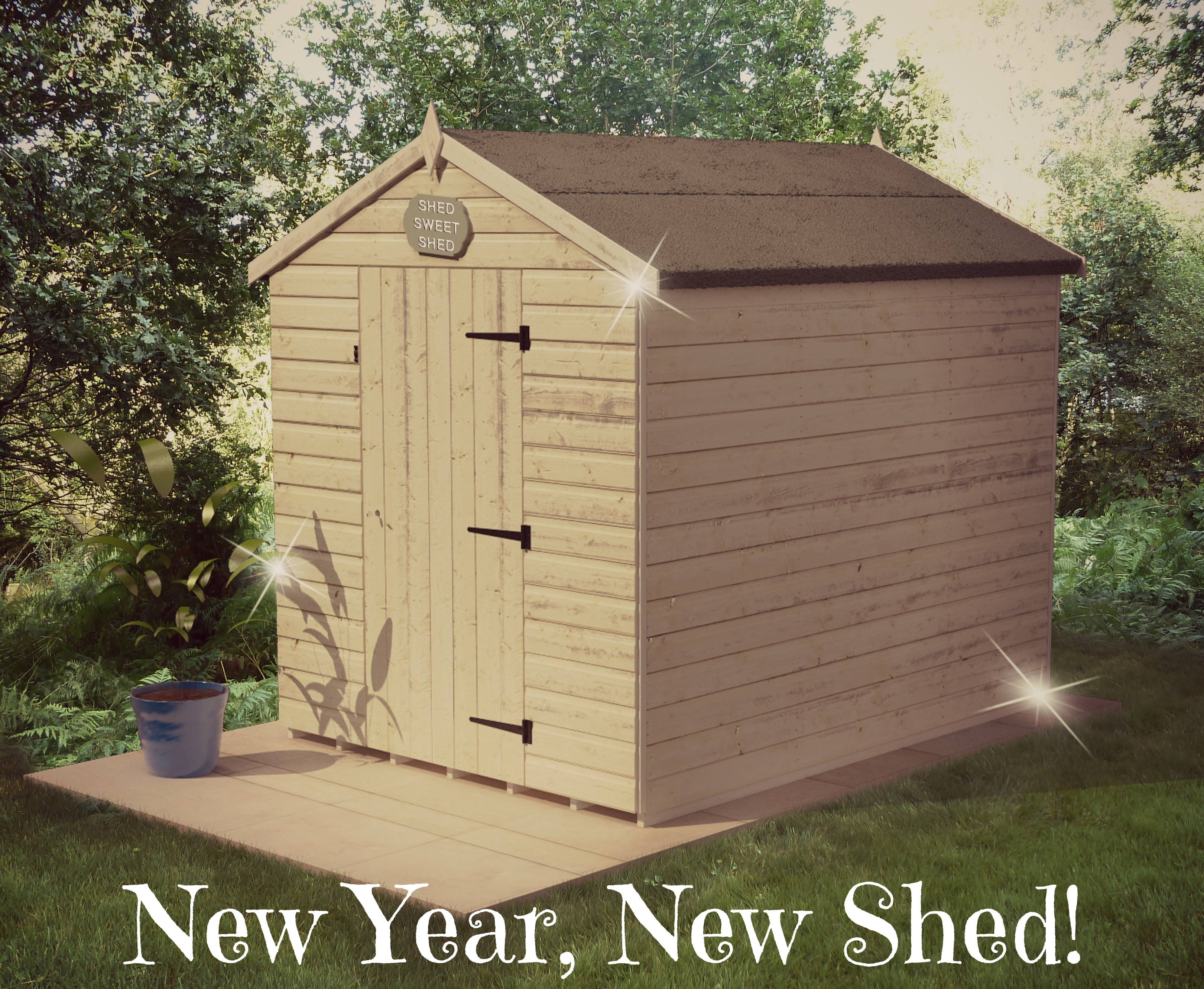 New Year New Shed Edited