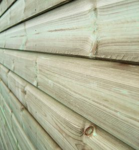 Pressure Treated Cladding