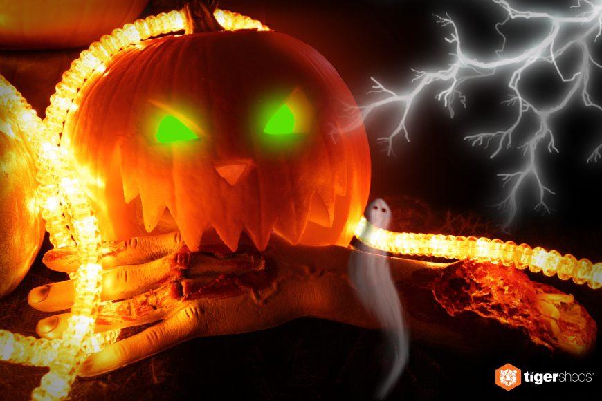 Sometimes you eat the pumpkin... sometimes the pumpkin eats you...