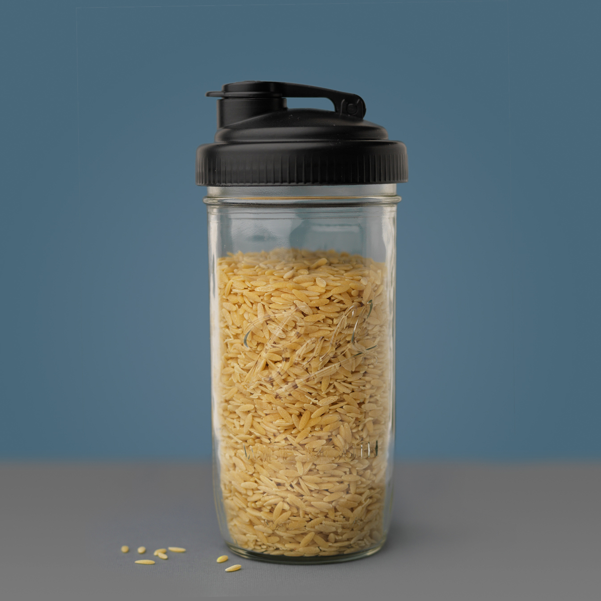 Rice in a Mason Jar