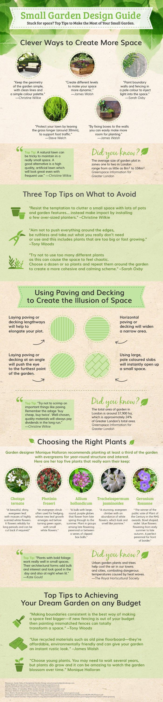 Ideas for designing a small garden