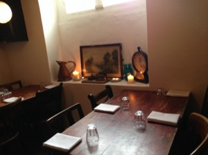 The Runcible Spoon table and chairs