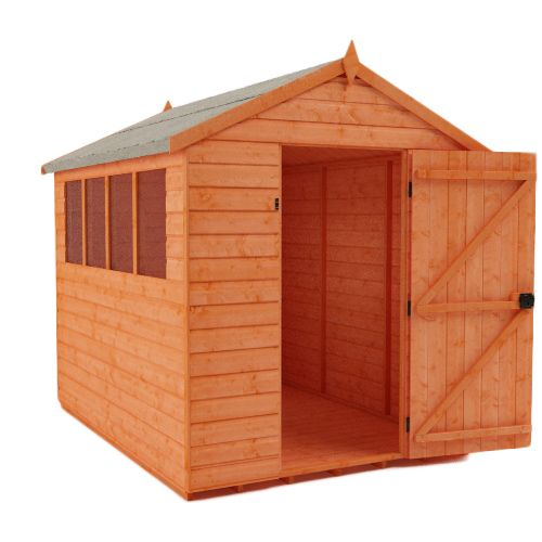 Tiger Shiplap Apex Shed 8x6
