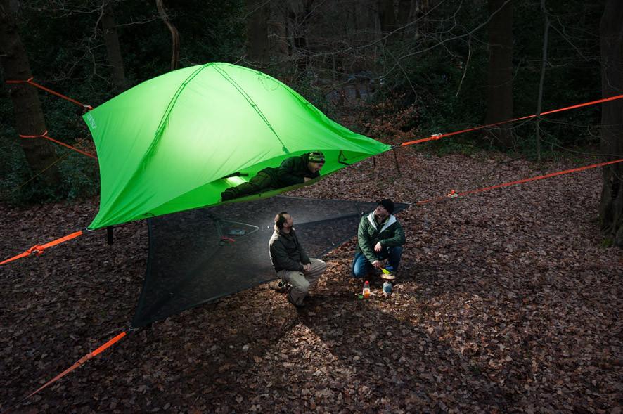Tree Tent.