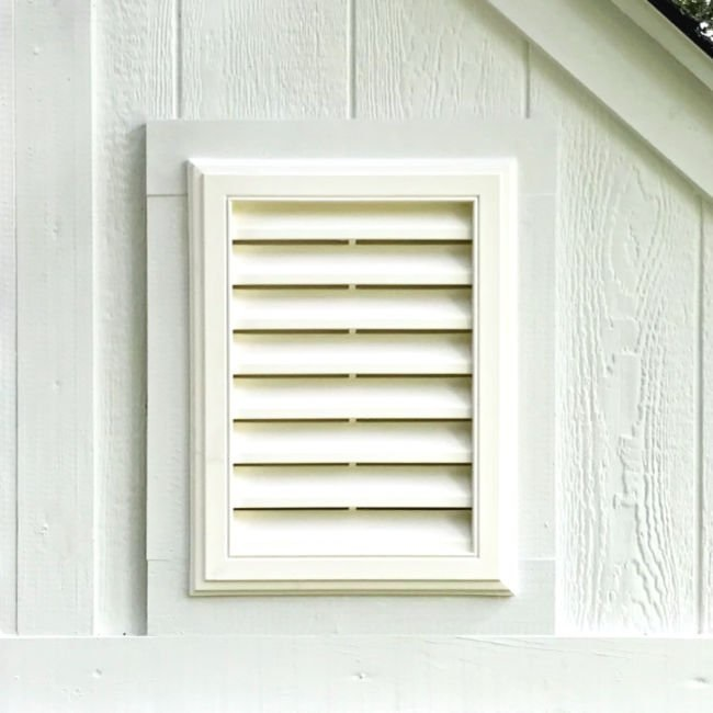 Shed vent