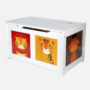White Safari Toy Box - jojo maman (1)