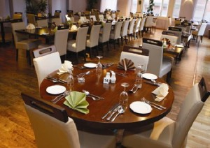 Adams Restaurant tables and chairs