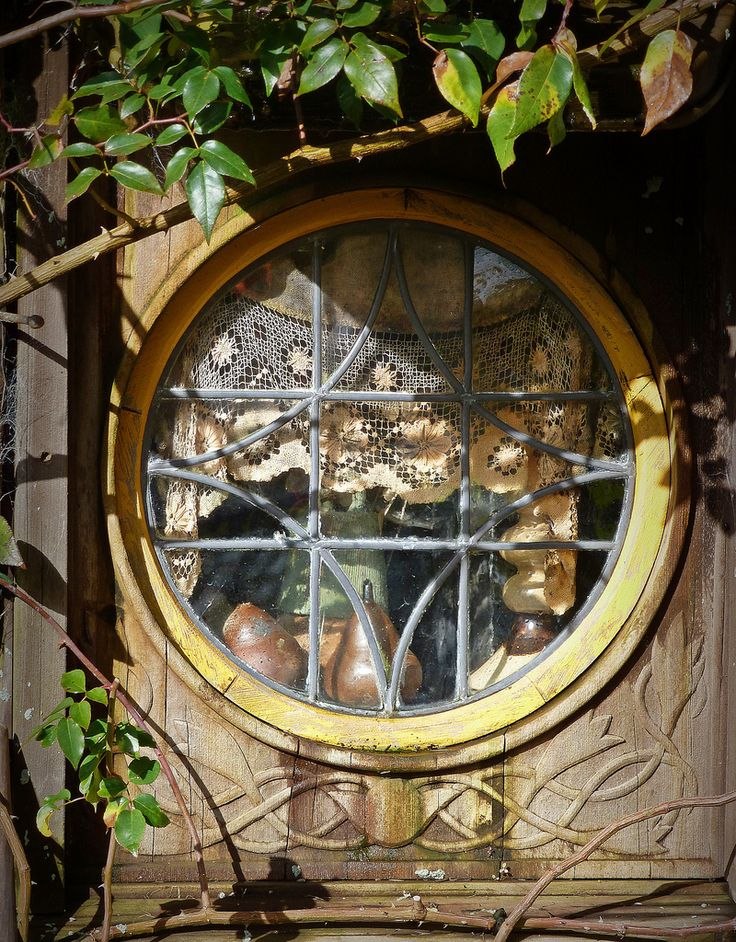 Hobbit Hole Window