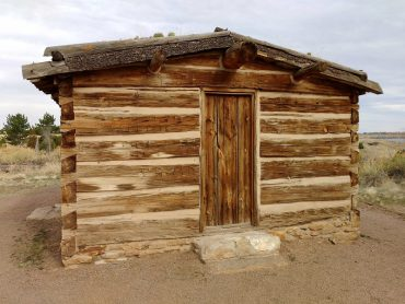 Rustic-looking shed