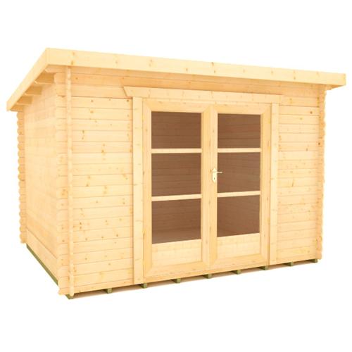 Tiger Log Cabin