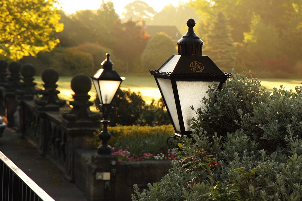 Add in attractive outdoor lighting to increase curb appeal.