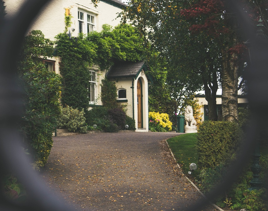 Wash down your driveway for instant curb appeal.