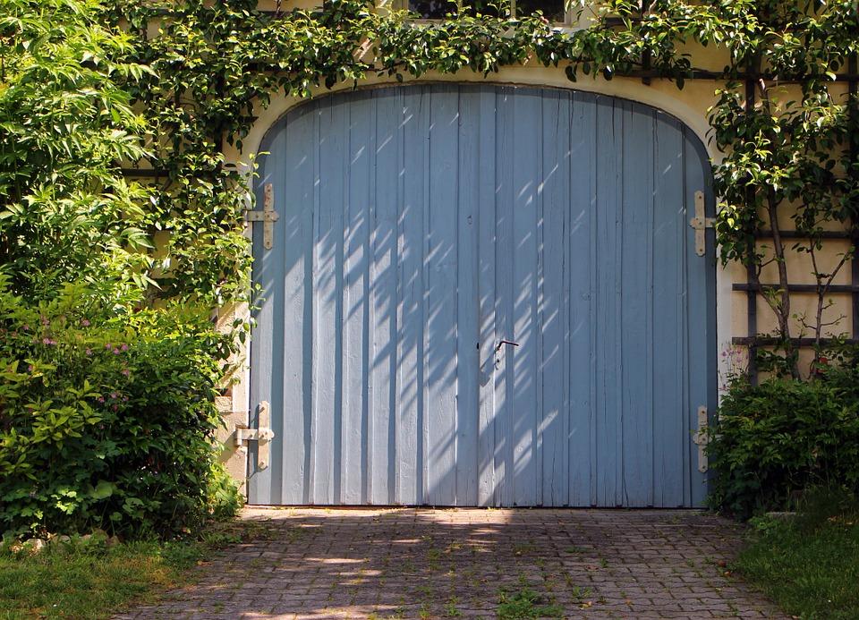 Paint garage door for increasing curb appeal.