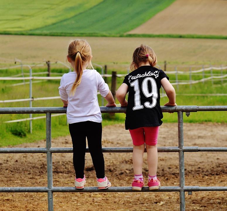 Children Countryside