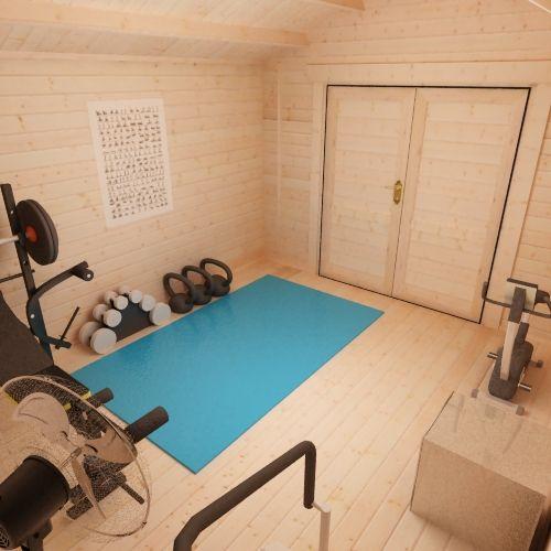 Garden gyms bakers timber buildings