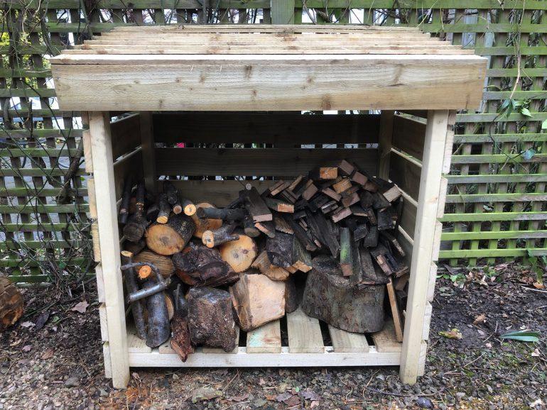 Tiger Log Store full of logs