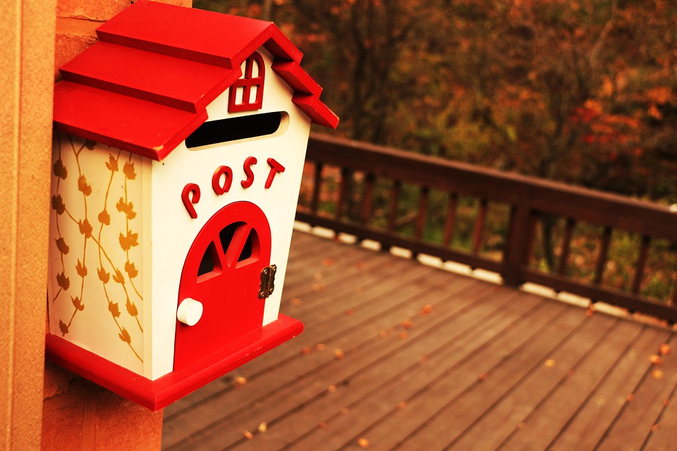 Replace or paint your letterbox for increasing your curb appeal.