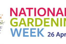 National Gardening Week 2021 logo