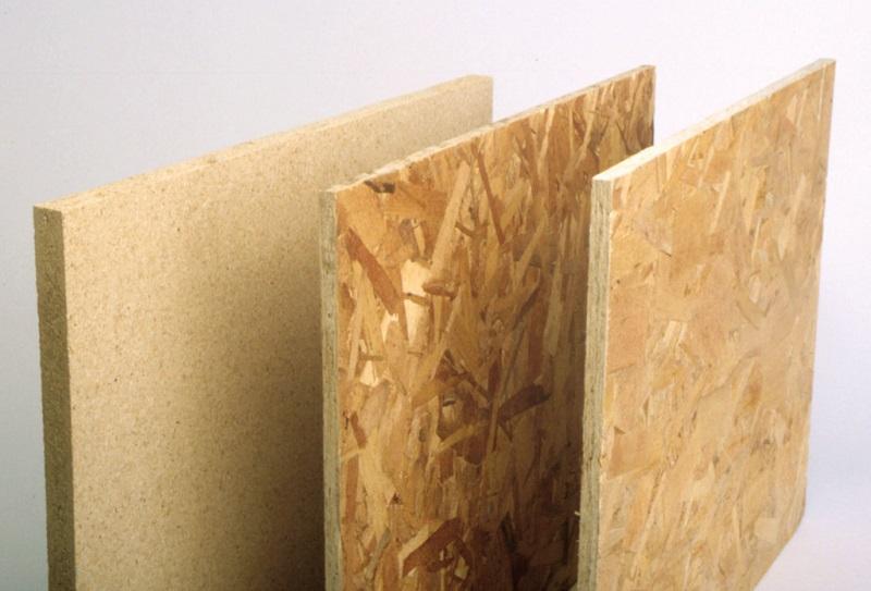 Three types of OSB /plywood insulation
