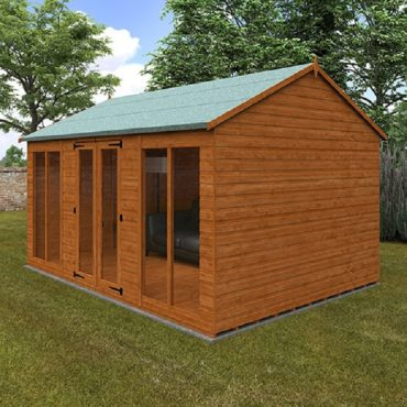 Tiger tongue and groove summerhouse S