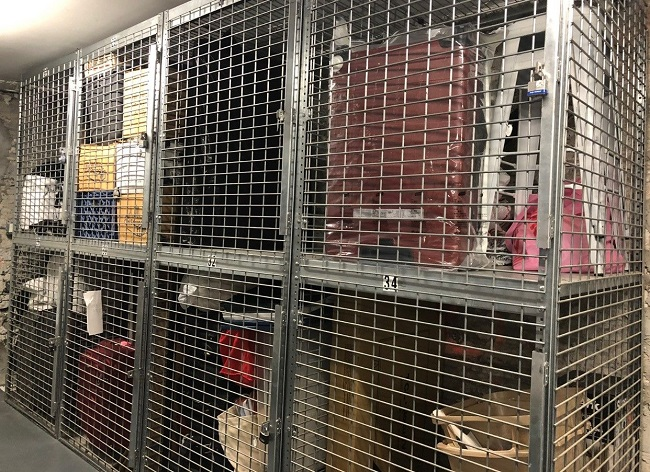Cage to protect your stuff from thieves