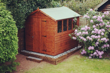 The Tiger Shiplap Apex looks stunning in all gardens!