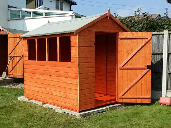 Customer image of a Tiger Sheds Shiplap Apex