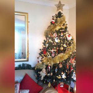 A Classic Tree With Home Decor